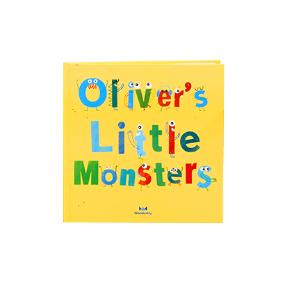 Front Cover of My Little Monsters Book