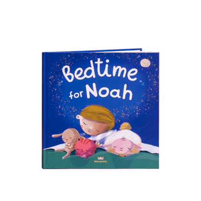 """Bedtime for Noah"" - preview of Bedtime for You book, for a child named Noah"